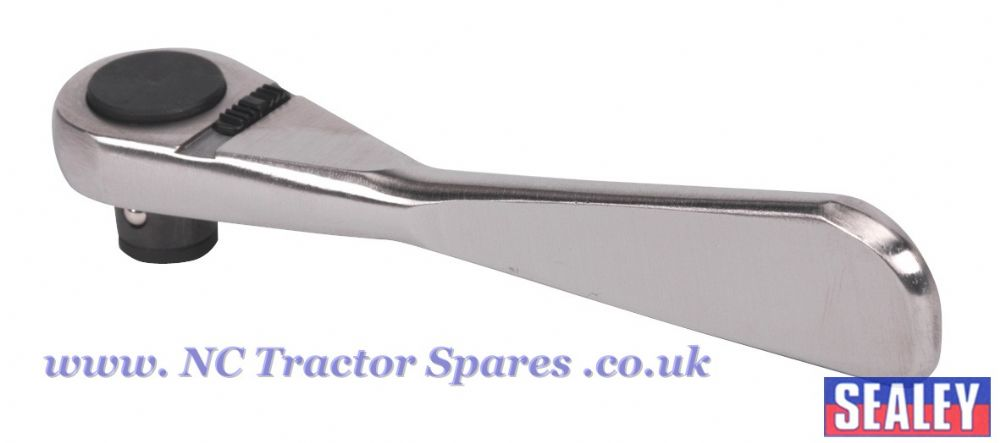 Bit Driver Ratchet Micro 6mm Stainless Steel